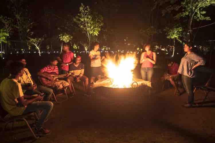 Barbeque & Bonfire